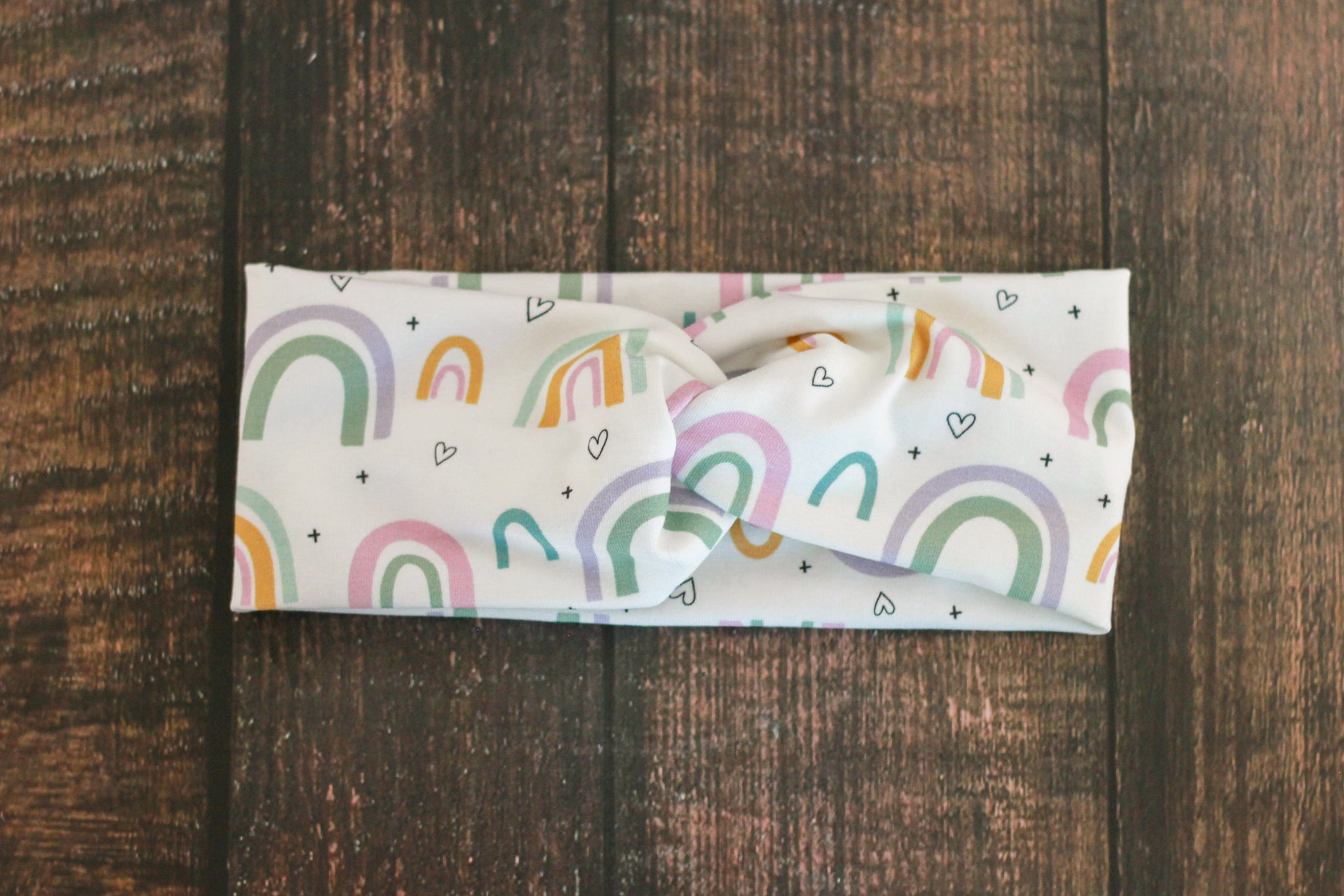 Rainbow Twist Headband