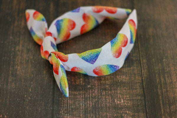 Rainbow Shapes Bowbands
