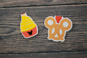 Disney Snacks Bookmarks