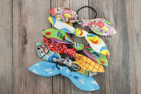 Toy Story Bow Hair Ties