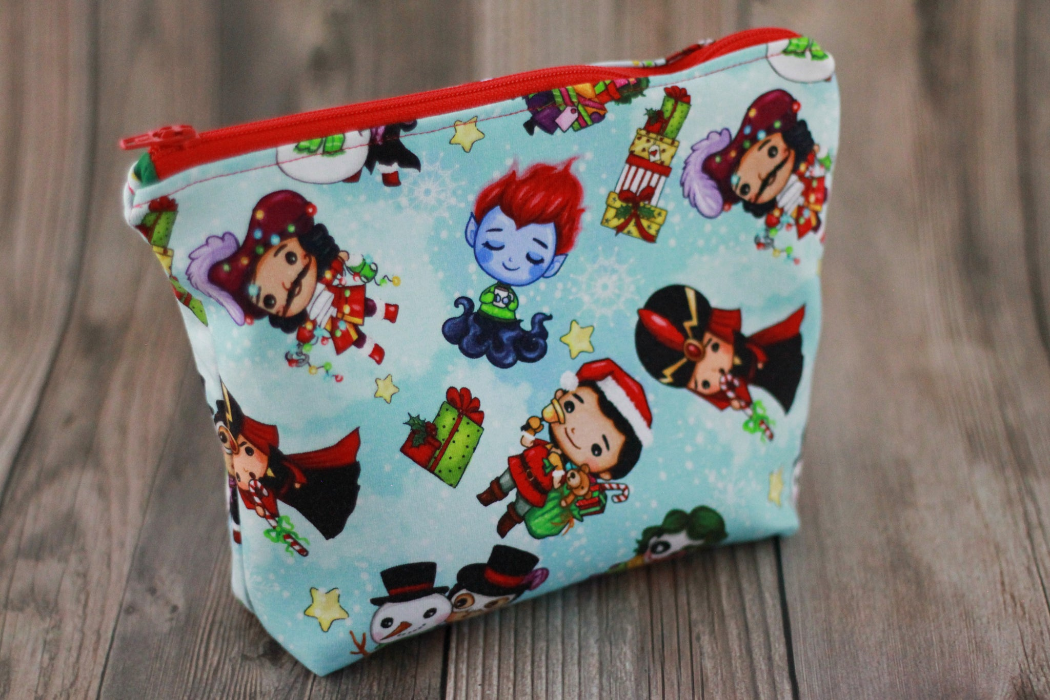 Christmas Villains Zipper Pouch
