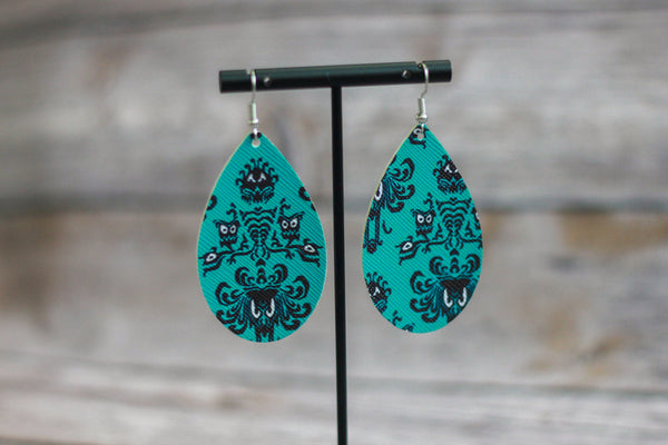 Spooky Mansion Earrings