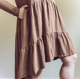 Hard Tail- Long Sleeve Cake Dress