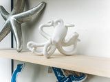 "6"" Stoneware Bisque Octopus"