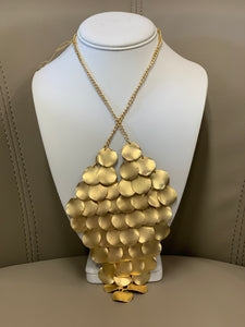 Gold Scales Necklace