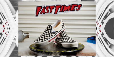 Vans Tributes the 'Fast Times at Rigdemont High' with Checkerboard Slip-On