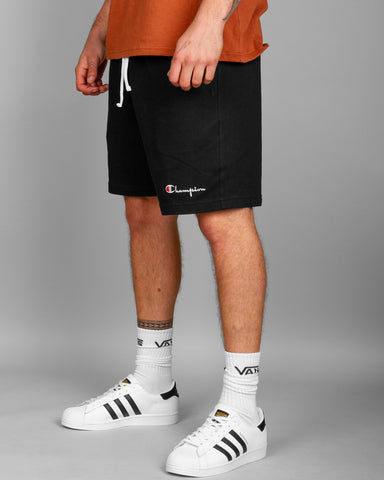 Champion heavyweight jersey short in black