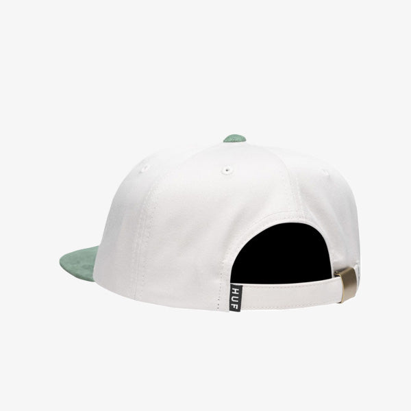 1984 Contrast 6 Panel Hat - Oyster White