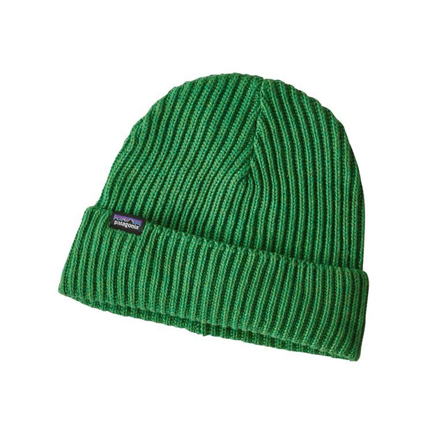 Fishermans Rolled Beanie - Myrtle Green