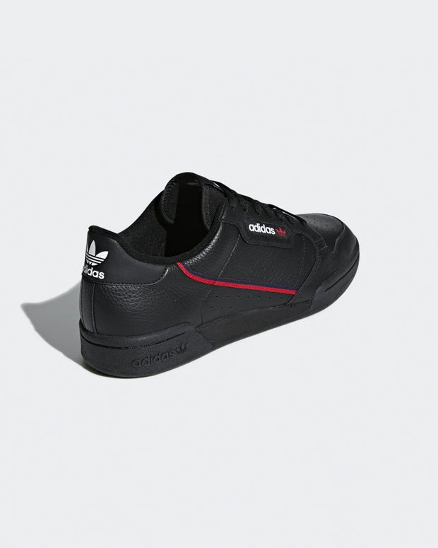 Adidas Originals - Continental 80 - Core Black/Scarlet/Collegiate Navy