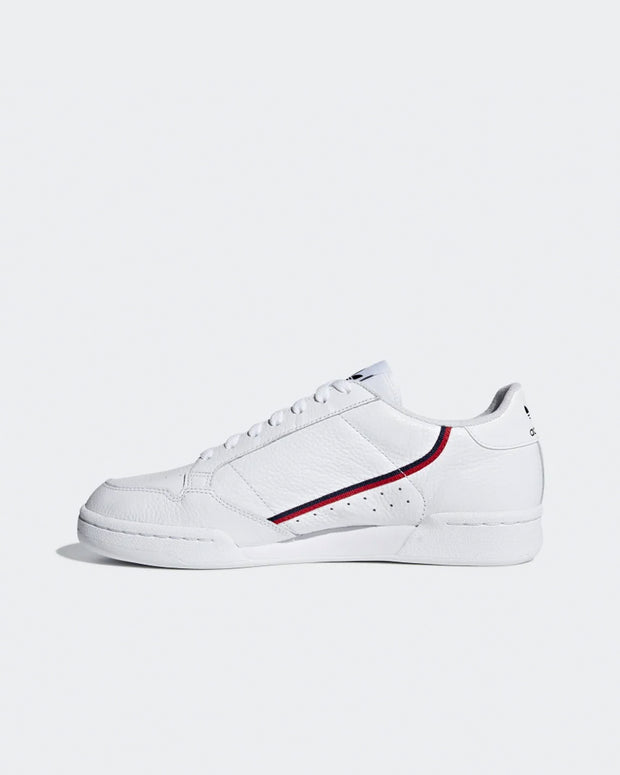 Continental 80  - White/Scarlet/Collegiate Navy