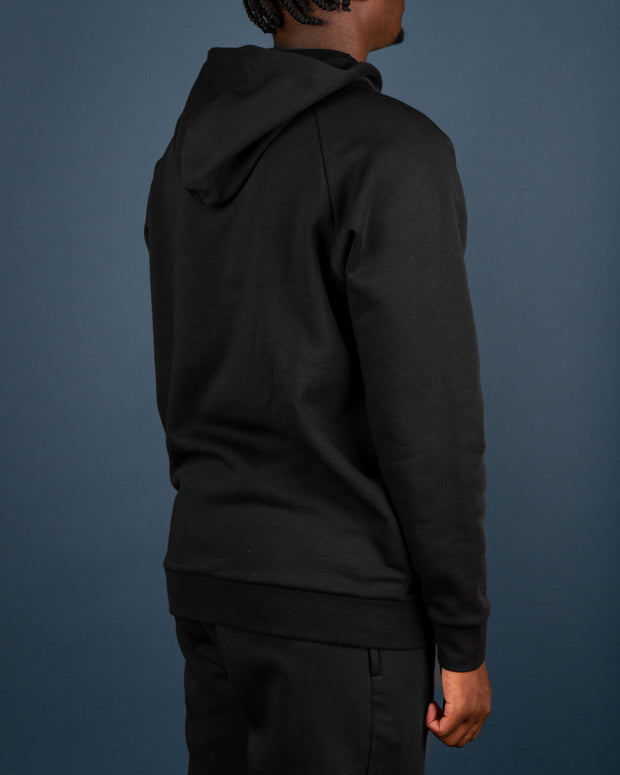 A staple hoodie for your winter wardrobe, the Adidas Originals 3D Trefoil Graphic Hoodie is a slick black hoodie that features the iconic 3D Trefoil logo embroidered on the centre chest in white. Made from a premium cotton blend and constructed with raglan sleeves, a kangaroo pocket and ribbed trims.