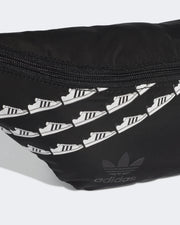 The Adidas Originals Waistbag in Black is perfect for the lovers of the adidas Superstar sneaker
