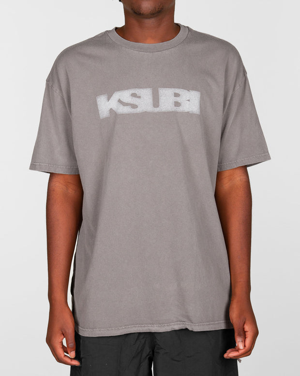 Ksubi - Sign Of The Times Tee - Drifter Grey