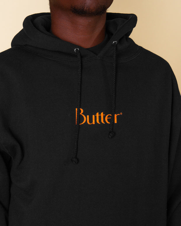 Adding to the Butter Goods line-up of relaxed staples, the Speckle Classic Logo Pullover Hoodie is perfect weekend attire. Cut from heavy-weight 330gsm brushed cotton and featuring a cosy drawstring hood, while printed branding decorates the chest to complete the look.