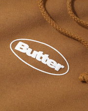 Butter Goods - Badge Puff Logo Hoodie - Saddle