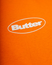 Puff Badge Logo Tee - Orange