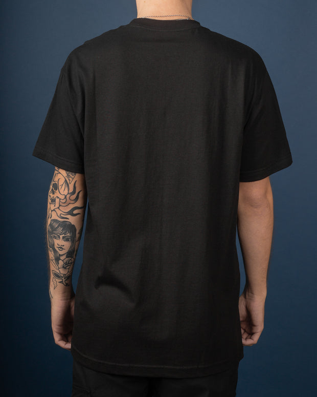 Puff Badge Logo Tee - Black