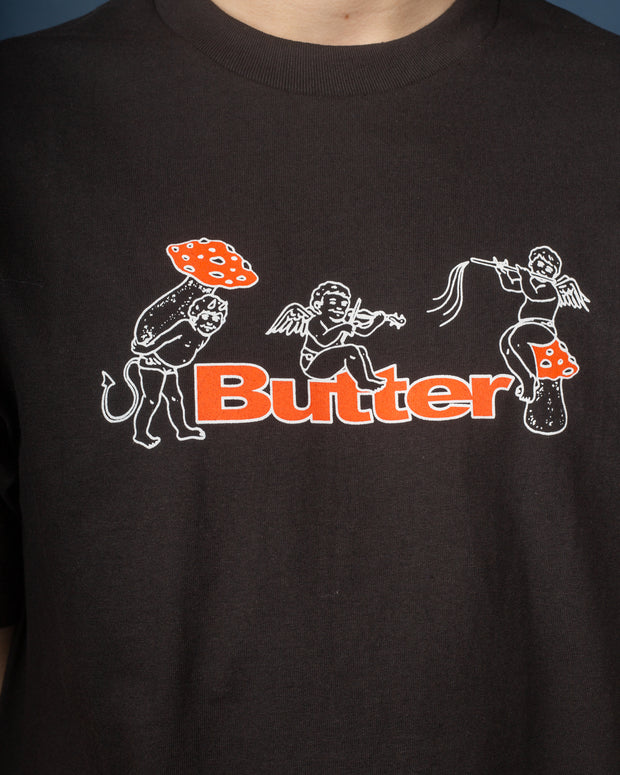Butter Goods - Mushrooms Tee - Black