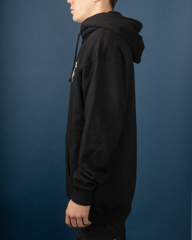 Mushrooms Pullover - Black