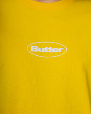 Puff Badge Logo Tee - Yellow