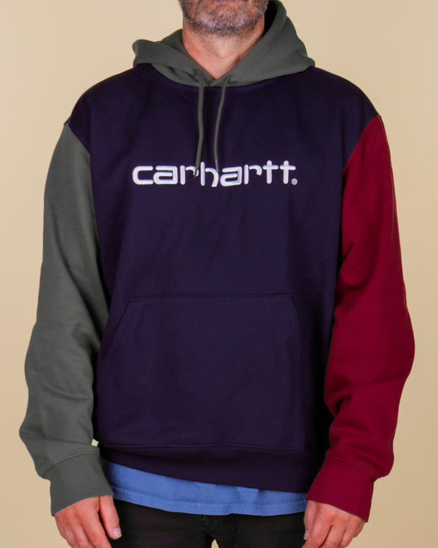 Carhartt - Hooded Carhartt Tricol Sweat - Dark Navy