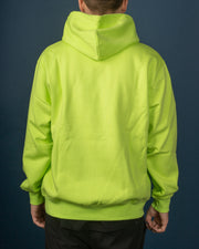 Hooded Carhartt Sweat  - Lime / Black