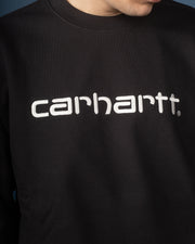 Carhartt Sweat - Black / White