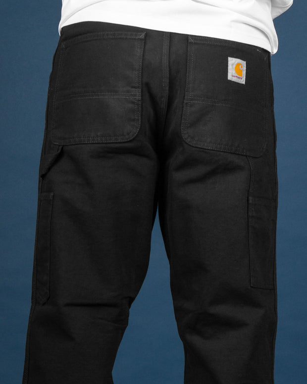 Carhartt - Single Knee Pant - Black Rinsed