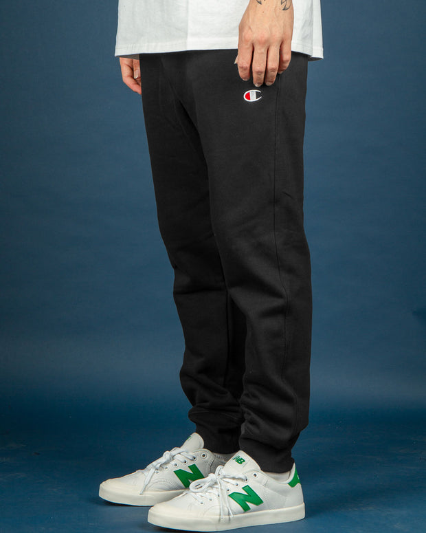 Champion Reverse Weave Jogger in Black