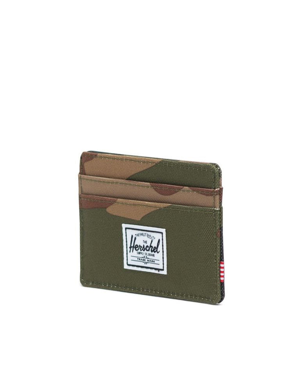 Charlie Wallet + RFID  - Woodland Camo