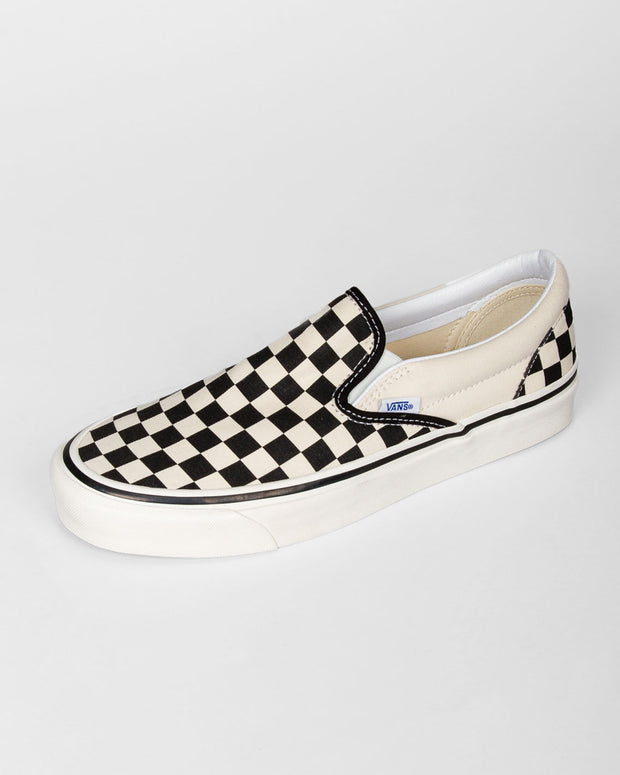 Vans - Classic Slip-On 98 DX Anaheim Factory - Checkerboard Black / White