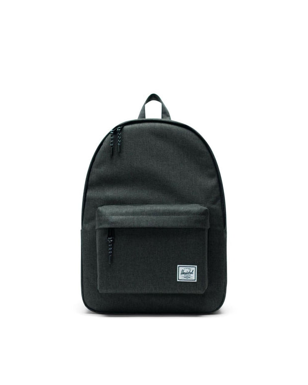 Classic Backpack - Black Crosshatch