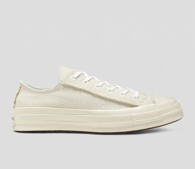 Converse - Chuck Taylor All Star 1970's Renew Cotton Lo - Egret / Natural
