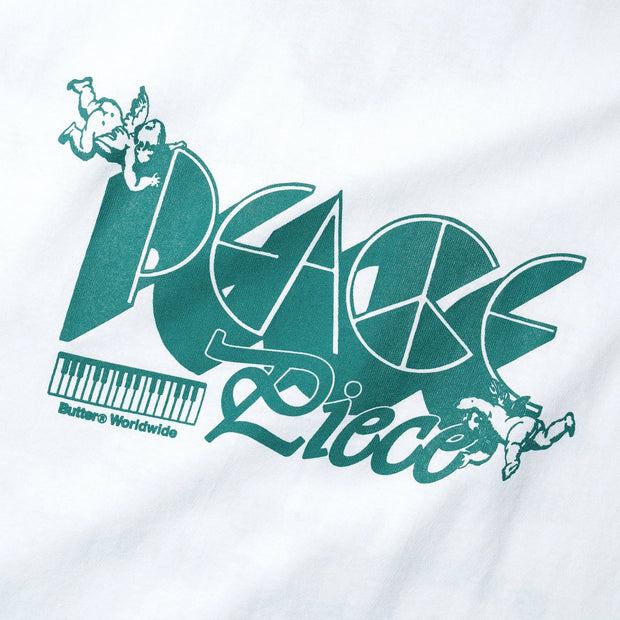 Butter Goods - Peace Piece Tee - White