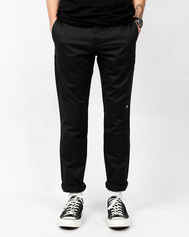 918 Double Knee Slim Fit Workpant - Black