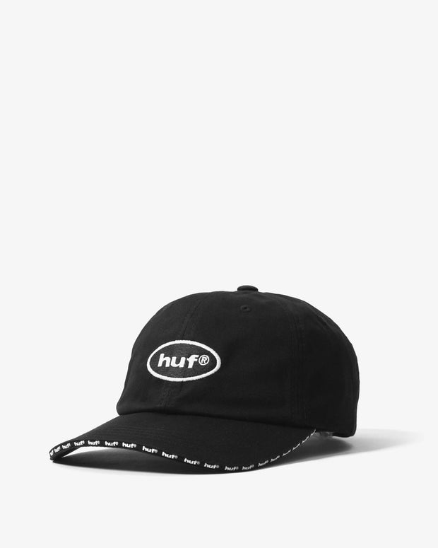 Ellis CV 6 Panel Cap - Black