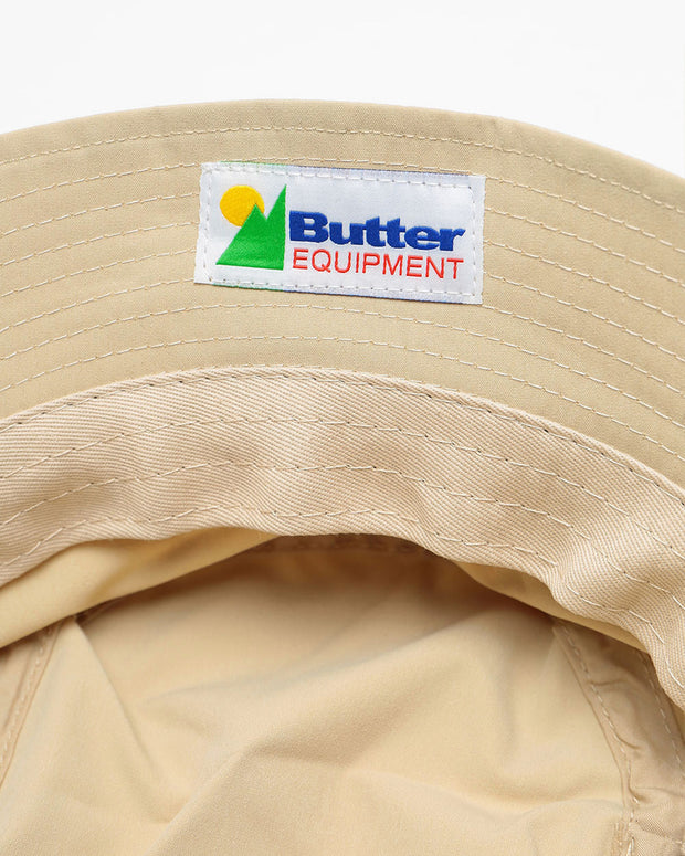 Butter Goods - Equipment Bucket Hat - Khaki