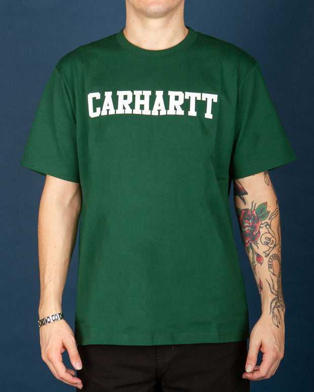 Carhartt - College Tee - Treehouse / White