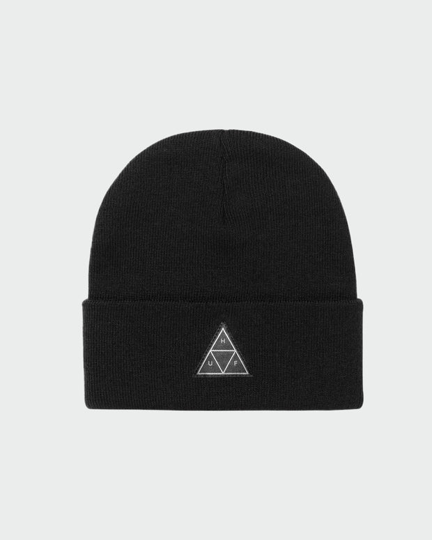 The TT Cuff Beanie - Black