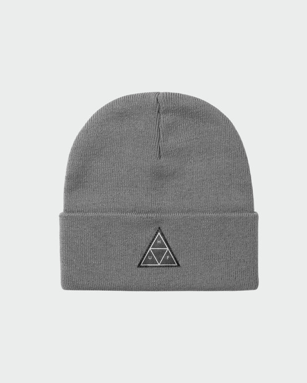 The TT Cuff Beanie - Grey Heather