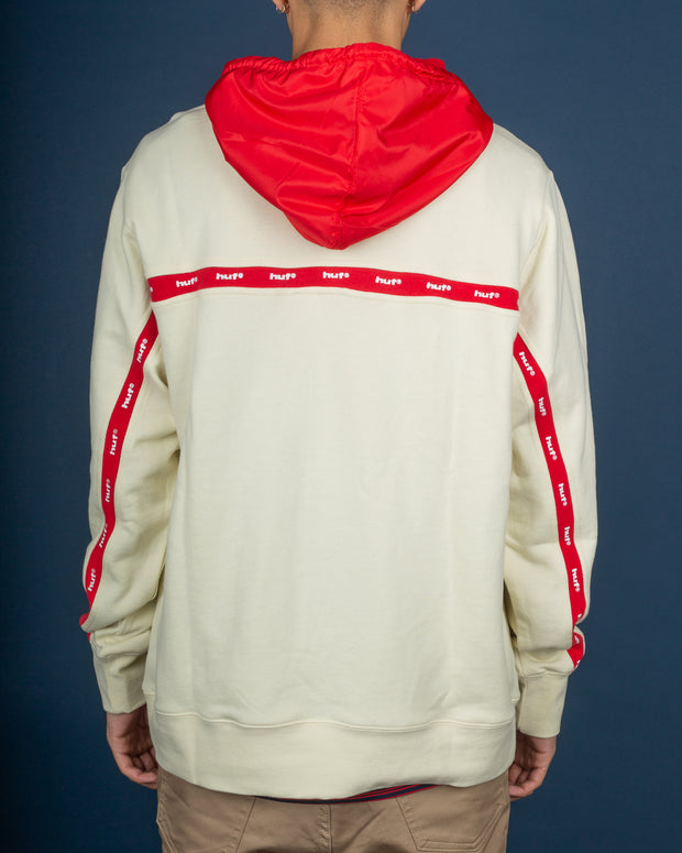HUF Track Hoodie - Off White