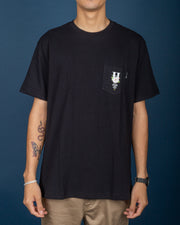 HUF Central Park Pocket Tee - Black