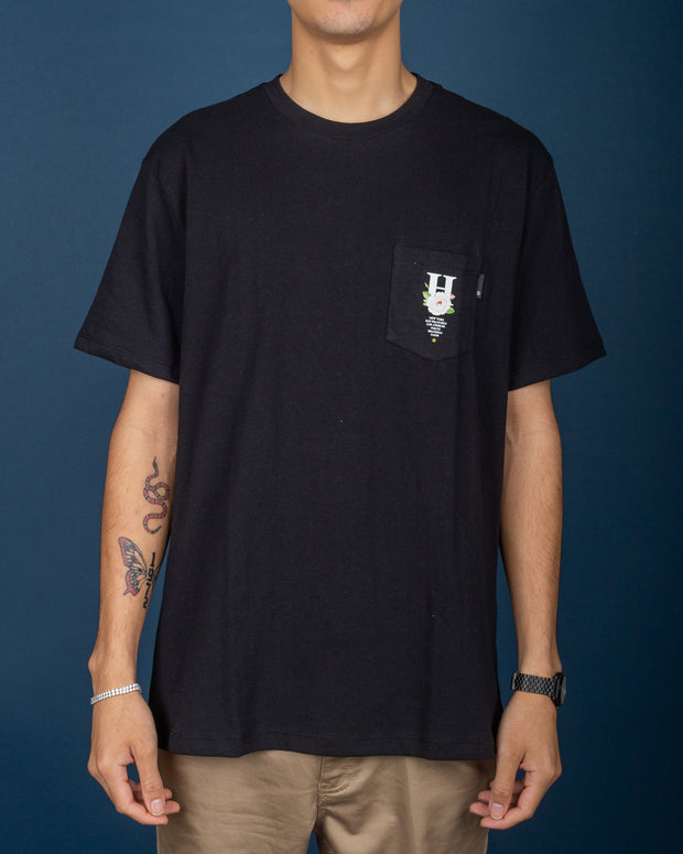 Central Park Pocket Tee - Black