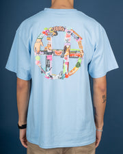 HUF Erotica Tee - Light Blue