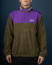 Mountain 10K 1/4 Zip - Dusty Olive