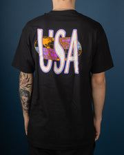 Quake USA Tee - Black