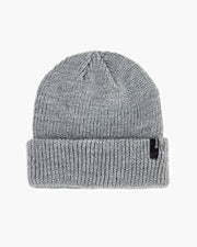 The Brixton Heist Beanie in Light Heather Grey