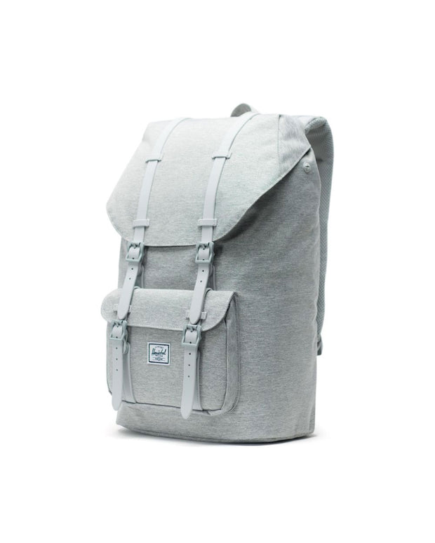 Little America Backpack - Light Grey Crosshatch