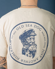 Old Sea Dog Tee - Washed Stone